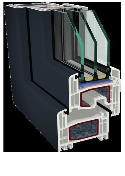 Окна Серия S8000 IQ (Acrylcolor)